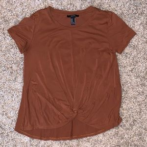 Forever 21 Burnt Orange Tee